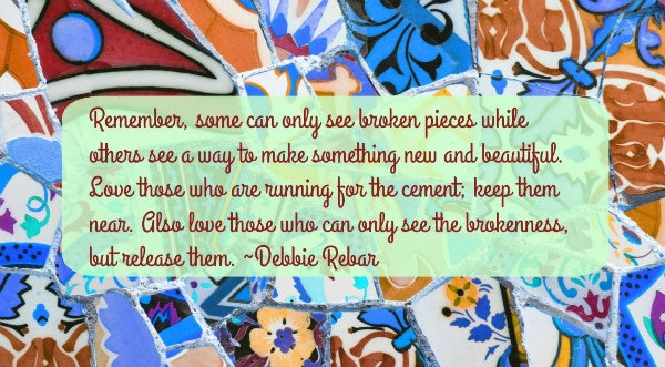 You are more than broken pieces